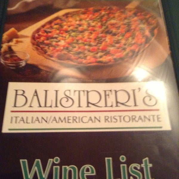Photo taken at Balistreri's Italian American Ristorante by Deborah M. on 7/29/2013