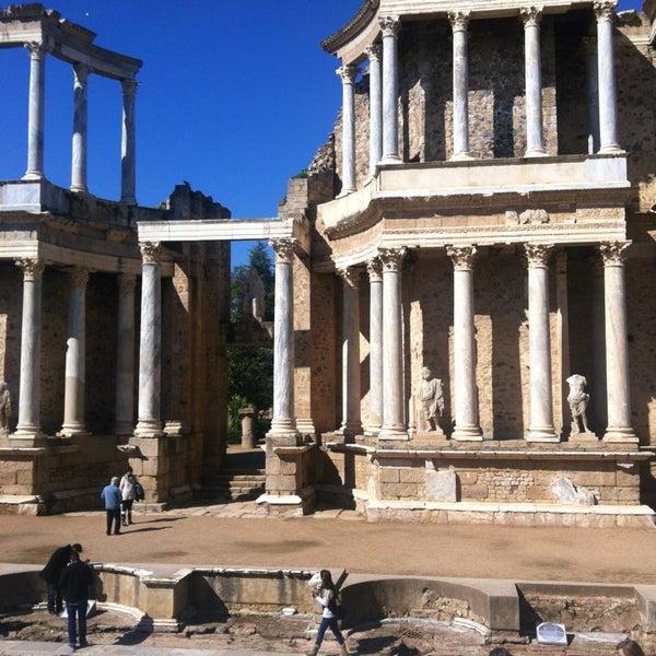 Photo taken at Anfiteatro Romano by Maria M. on 2/24/2013