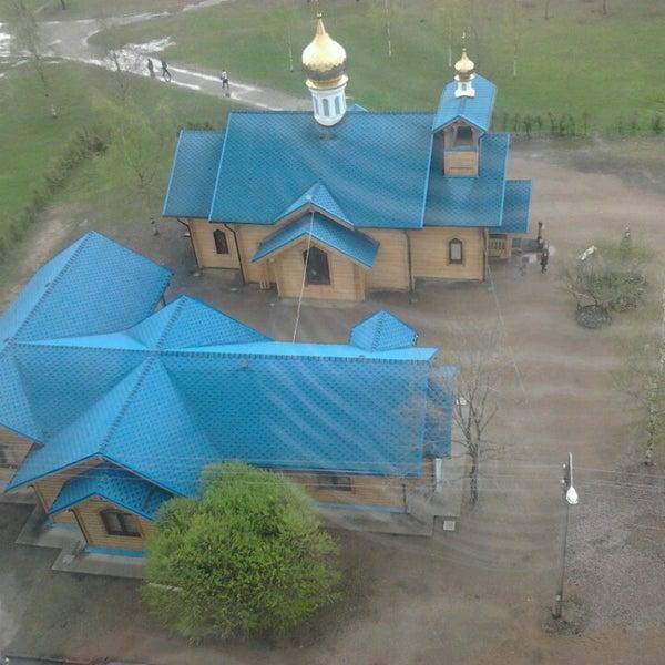 Photo taken at Храм святого Николая Чудотворца by Nas T. on 5/10/2013