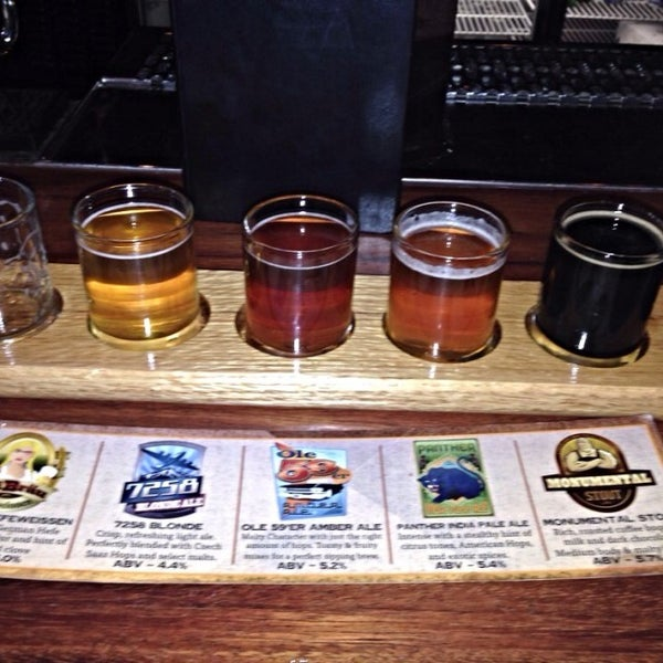 Photo taken at Colorado Mountain Brewery by Mike G. on 10/3/2014