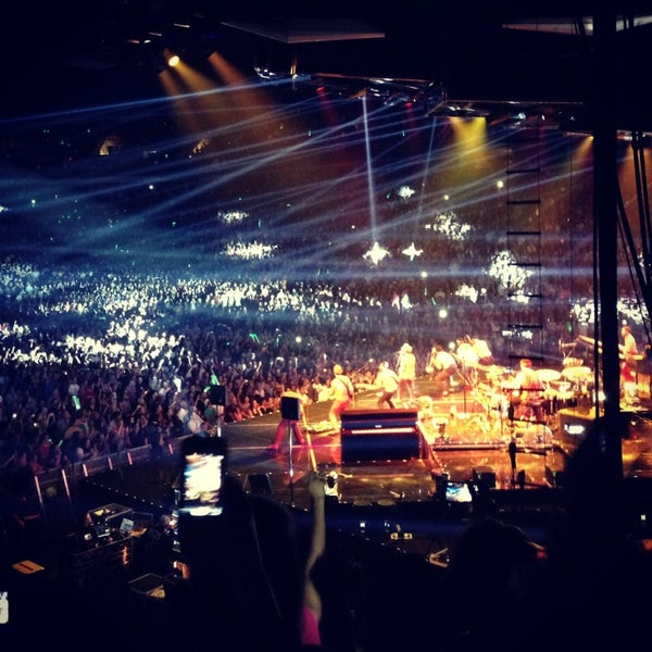 Photo taken at Rogers Arena by Iris W. on 7/21/2013