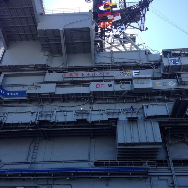Photo taken at USS Midway Museum by Tony G. on 3/8/2014
