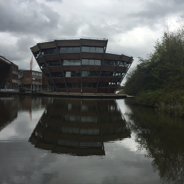 Photo taken at Djanogly Learning Resource Centre by Erdem B. on 4/25/2016