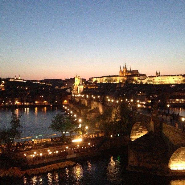 Photo taken at Karlův most | Charles Bridge by Iva Č. on 5/9/2013