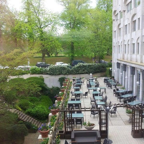 Photo taken at Hotel Royal by Sandra F. on 4/15/2014