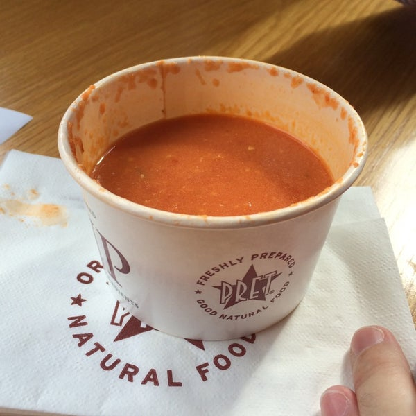 Photo taken at Pret A Manger by Michele M. on 10/10/2014