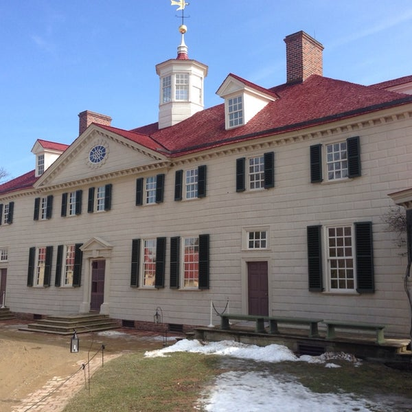 Photo taken at George Washington's Mount Vernon Estate, Museum & Gardens by Chris S. on 2/20/2014