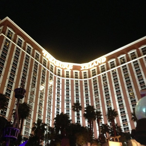 Photo taken at Treasure Island - TI Hotel & Casino by Adam C. on 4/26/2013