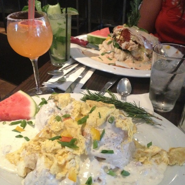 Photo taken at Hash House a Go Go by Kyle M. on 6/4/2013