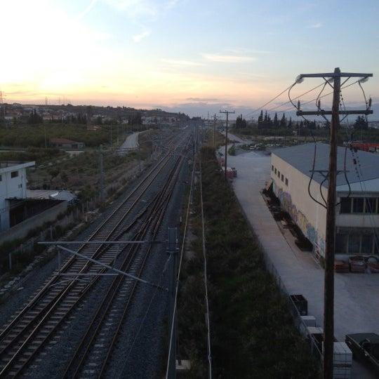 Photo taken at Σταθμός Προαστιακού Κιάτο (Kiato Suburban Rail Station) by Anny R. on 4/22/2012