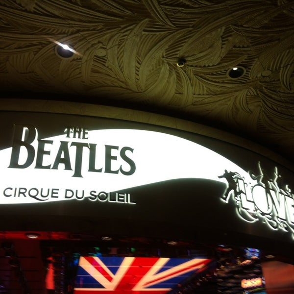 Photo taken at The Beatles LOVE (Cirque Du Soleil) by Maria L. on 2/12/2013