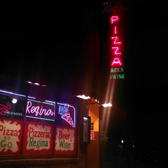 Photo taken at Regina Pizzeria by Tom F. on 1/6/2014
