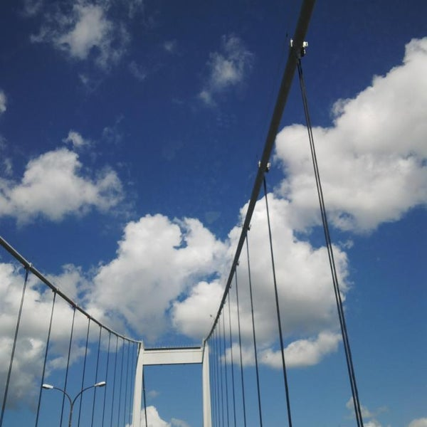 Photo taken at Fatih Sultan Mehmet Bridge by burhan y. on 7/22/2013