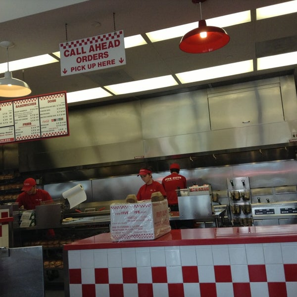 Photo taken at Five Guys by Rudy O. on 3/8/2013