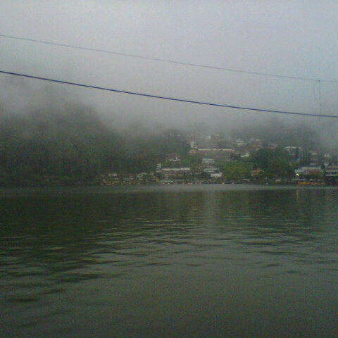 Photo taken at Telaga Sarangan by Asep D. on 1/29/2014