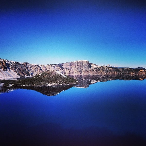 Photo taken at Crater Lake National Park by Justin M. on 12/27/2013