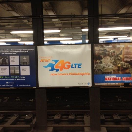 Photo taken at SEPTA: 15th Street Station (MFL/TRL) by Sharyn F. on 12/9/2012
