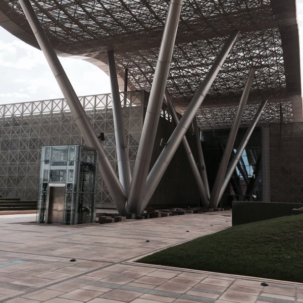 Photo taken at Qatar Science and Technology Park by Omar A. on 4/2/2014