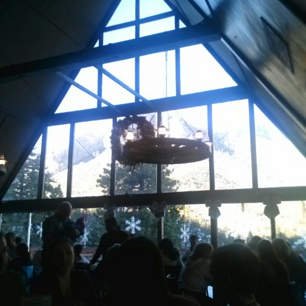 Photo taken at Mt Charleston Lodge by Danni B on 12/1/2013