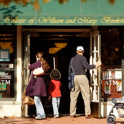 Photo taken at College of William & Mary Bookstore by College of William & Mary on 12/21/2011