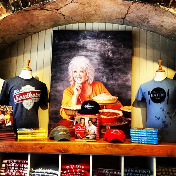 Photo taken at The Paula Deen Store by Joseph V. on 8/3/2013