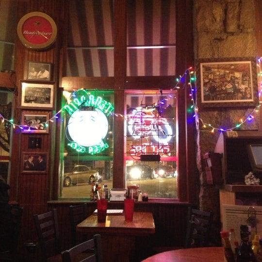 Photo taken at Manuel's Tavern by Ginger G. on 12/12/2012