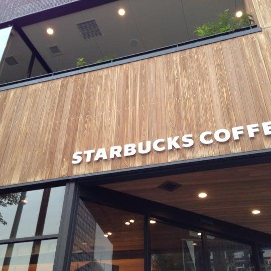 Photo taken at Starbucks Coffee 神楽坂下店 by Josh F. on 10/17/2012