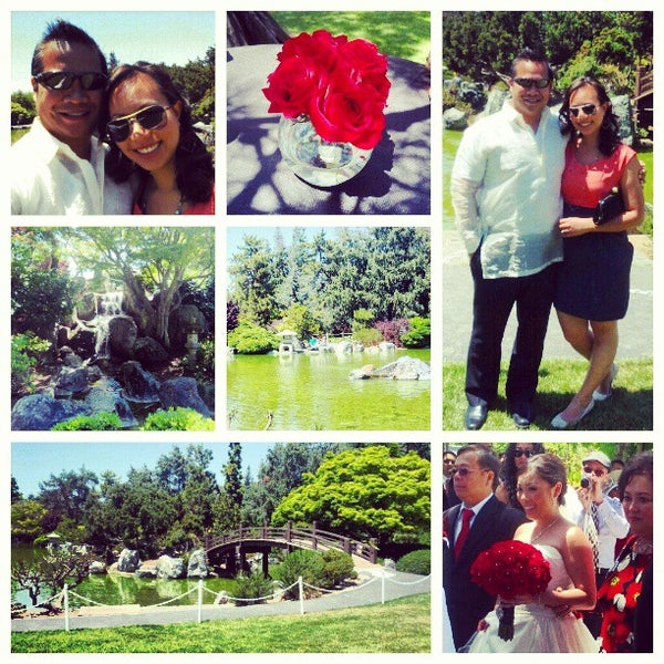 Photo taken at Japanese Friendship Garden by Nadia L. on 5/25/2013
