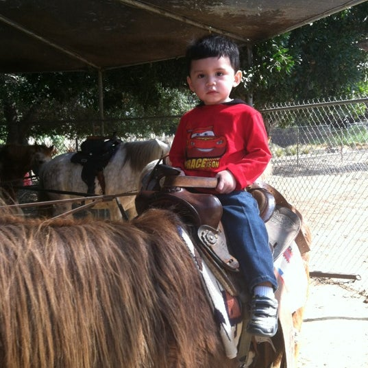 Photo taken at Griffith Park Pony Rides by Lisle L. on 2/25/2012