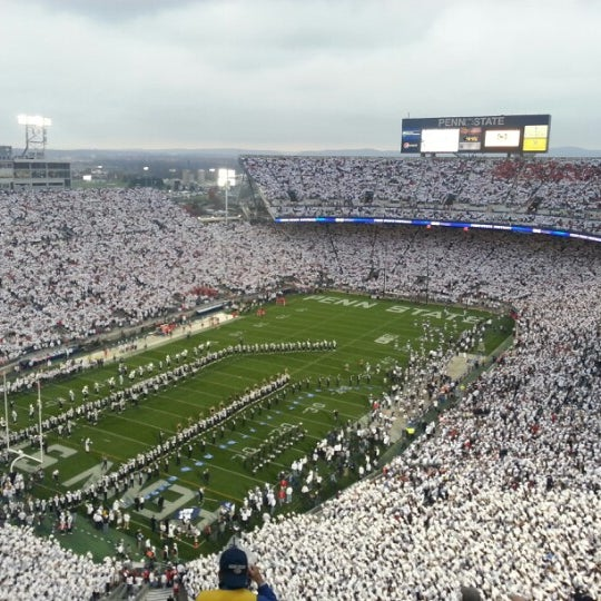 Photo taken at Beaver Stadium by Scott I. on 10/27/2012