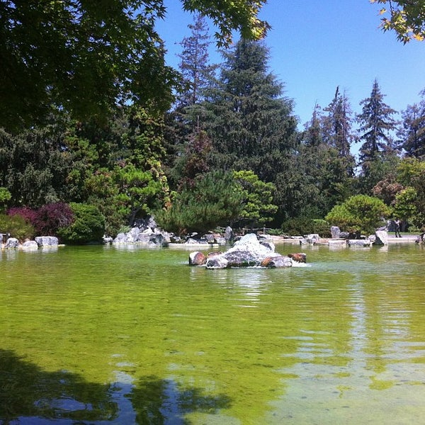 Photo taken at Japanese Friendship Garden by Justin S. on 8/5/2013