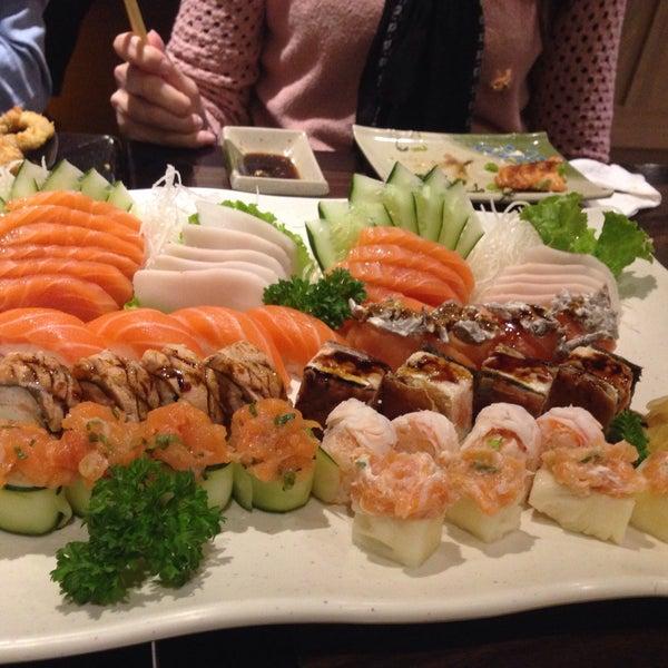 Photo taken at Joy Sushi by Adriana Gaspar on 5/12/2015