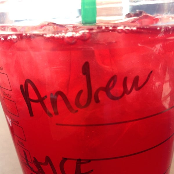 Photo taken at Starbucks by Andrew Nicholas C. on 4/10/2014