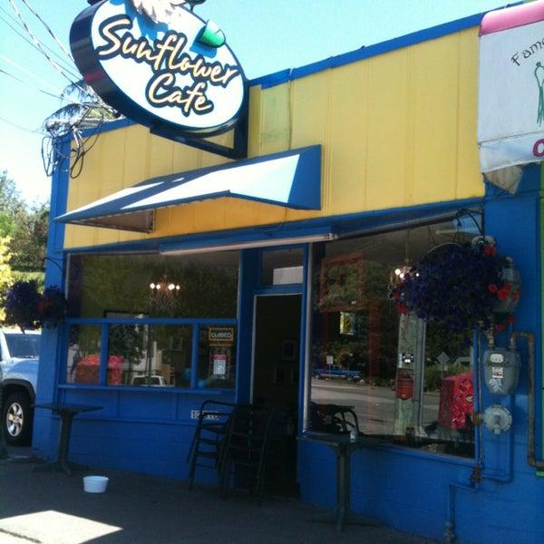 Sunflower Cafe Crescent Beach