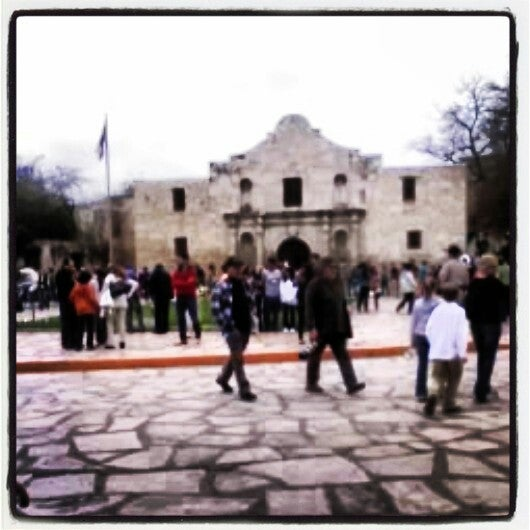 Photo taken at The Alamo by Crystal W. on 3/11/2014