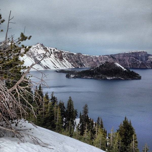 Photo taken at Crater Lake National Park by Pike O. on 12/30/2013