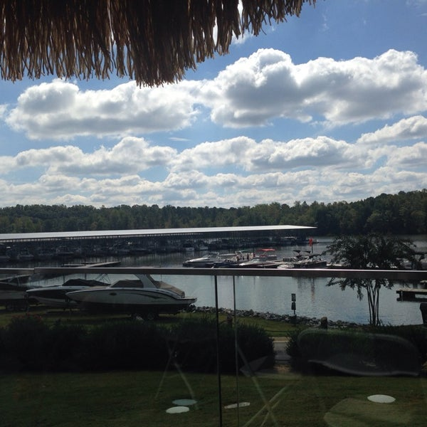 Photo taken at Fish Tales Lakeside Grille by Crystal R. on 9/29/2013
