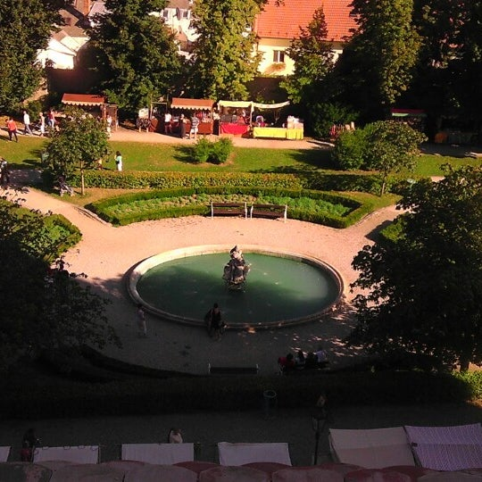 Photo taken at Zámek Mikulov by Standa K. on 9/6/2013