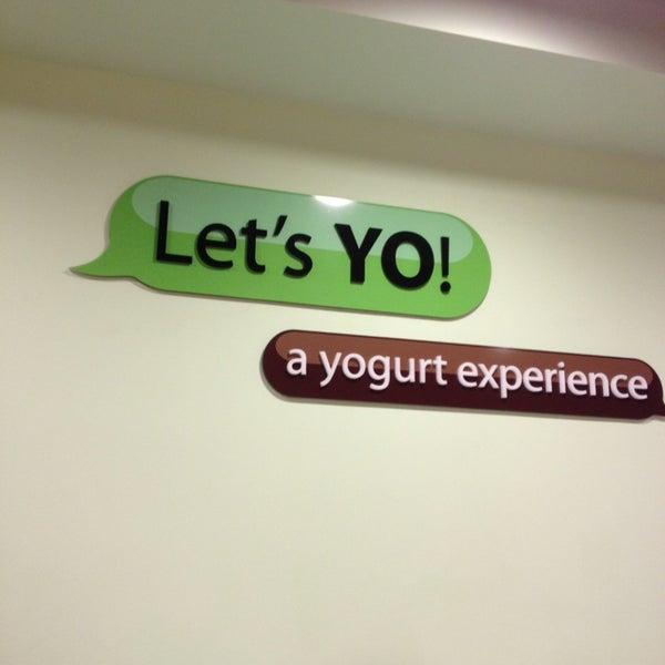Photo taken at Let's YO! Yogurt by Ruth S. on 8/24/2013