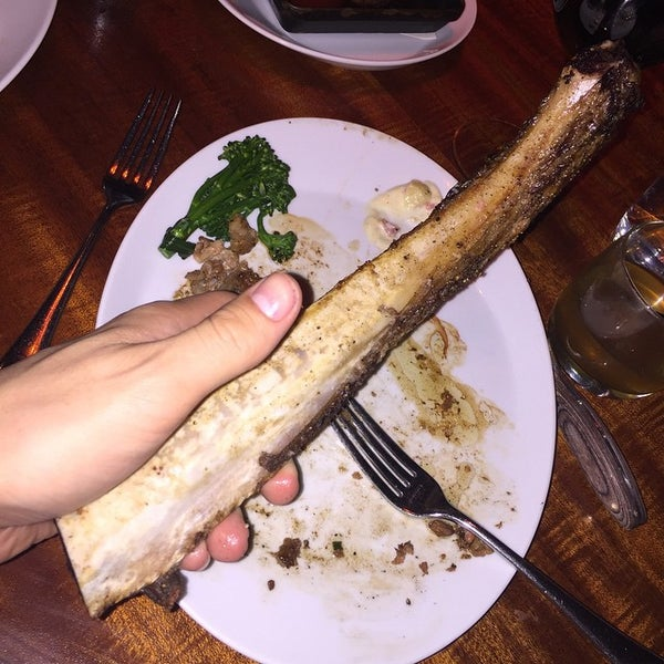Photo taken at STACK Restaurant & Bar by Kristopher S. on 4/14/2015