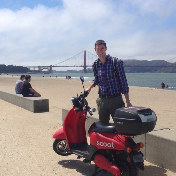 Photo taken at Crissy Field by Connor S. on 7/9/2014