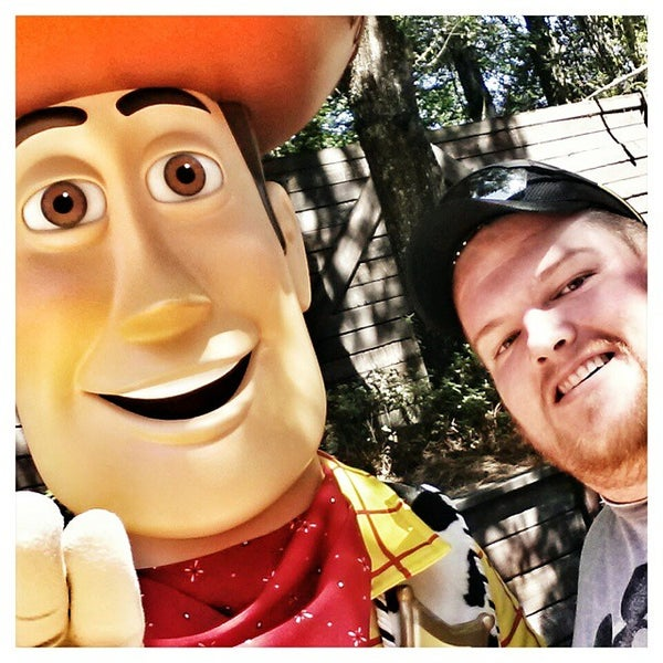 Photo taken at Frontierland by Eric K. on 10/5/2014