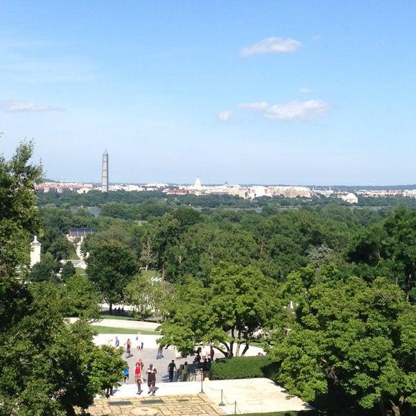 Photo taken at Arlington National Cemetery by Merritt W. on 6/22/2013