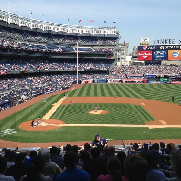 Photo taken at Yankee Stadium by Ian G. on 4/28/2013