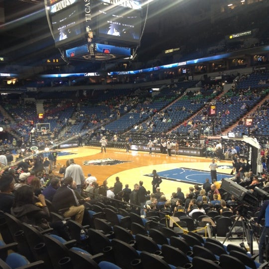 Photo taken at Target Center by Becca O. on 4/13/2013