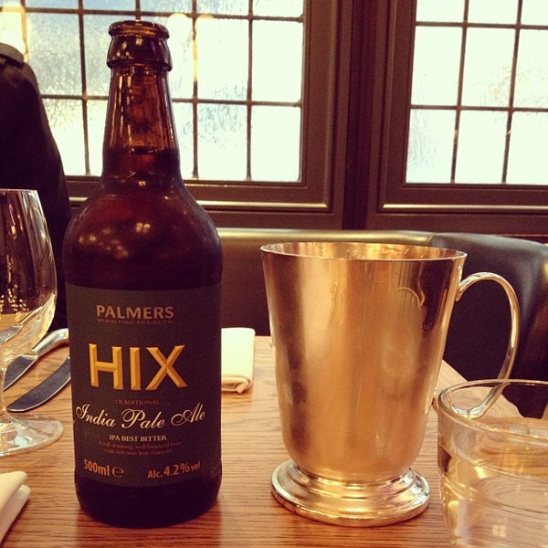 Photo taken at Hix by Jonathan S. on 10/11/2013