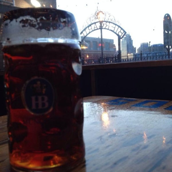 Photo taken at Hofbräuhaus Newport by Brent on 2/28/2014