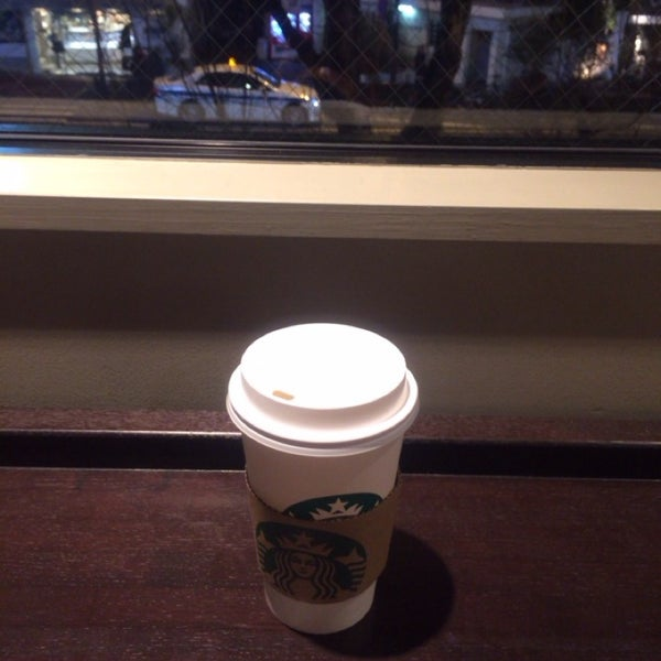 Photo taken at Starbucks Coffee 神楽坂下店 by ナナ on 1/30/2014