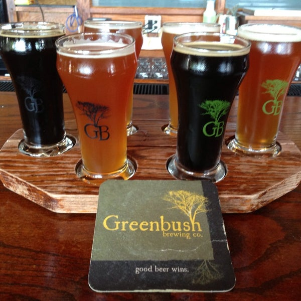 Photo taken at Greenbush Brewing Company by Glenn B. on 6/17/2013