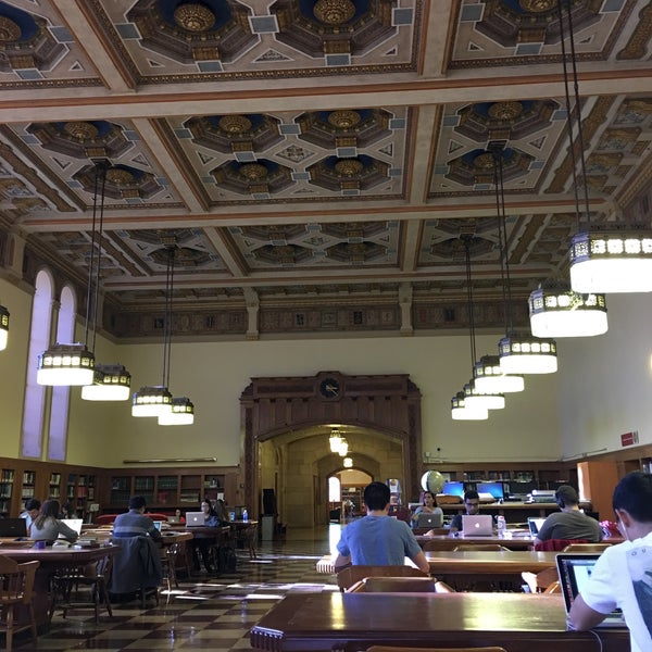 Photo taken at Doheny Memorial Library (DML) by Philip T. on 2/3/2016